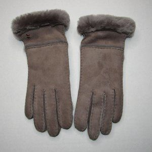 UGG WOMENS SEAMED TECH TOUCH SCREEN GLOVES